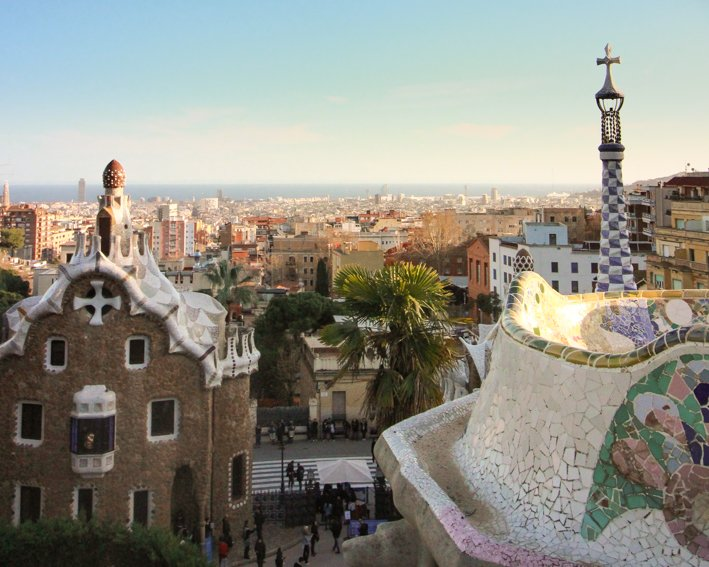 Parc Güell Gaudí Barcelona