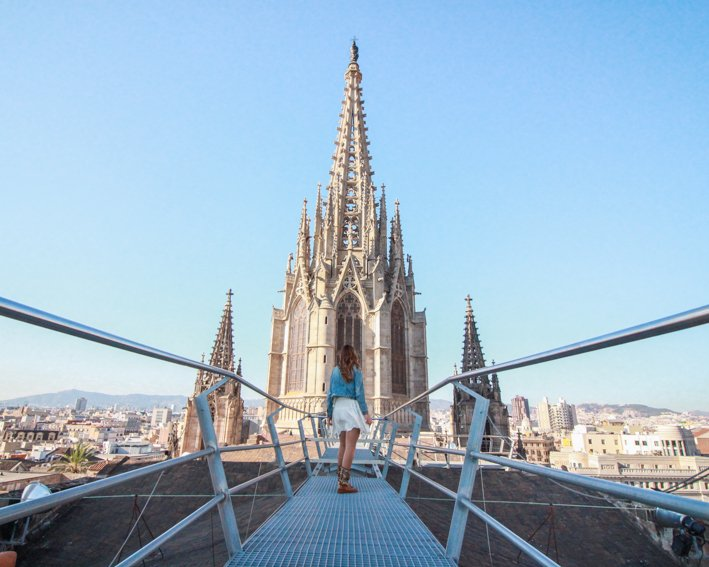 Terraza Catedral Barcelona