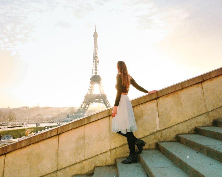 Amanecer Trocadero Paris