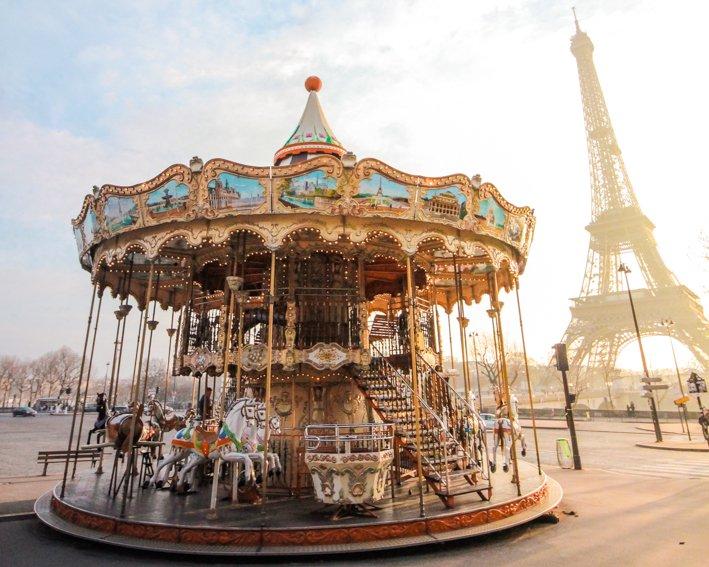 Carrusel Trocadero Paris