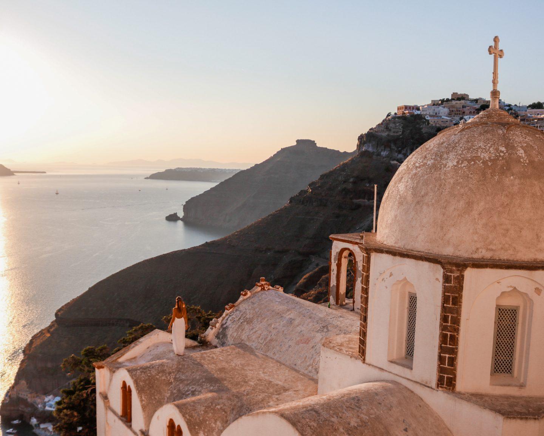 Donde dormir en Santorini