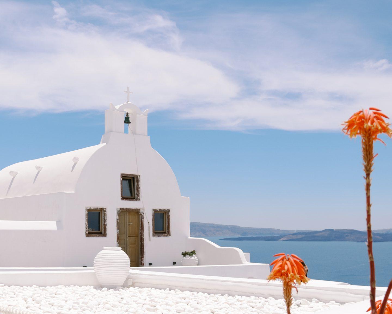 Donde dormir en Oia Santorini
