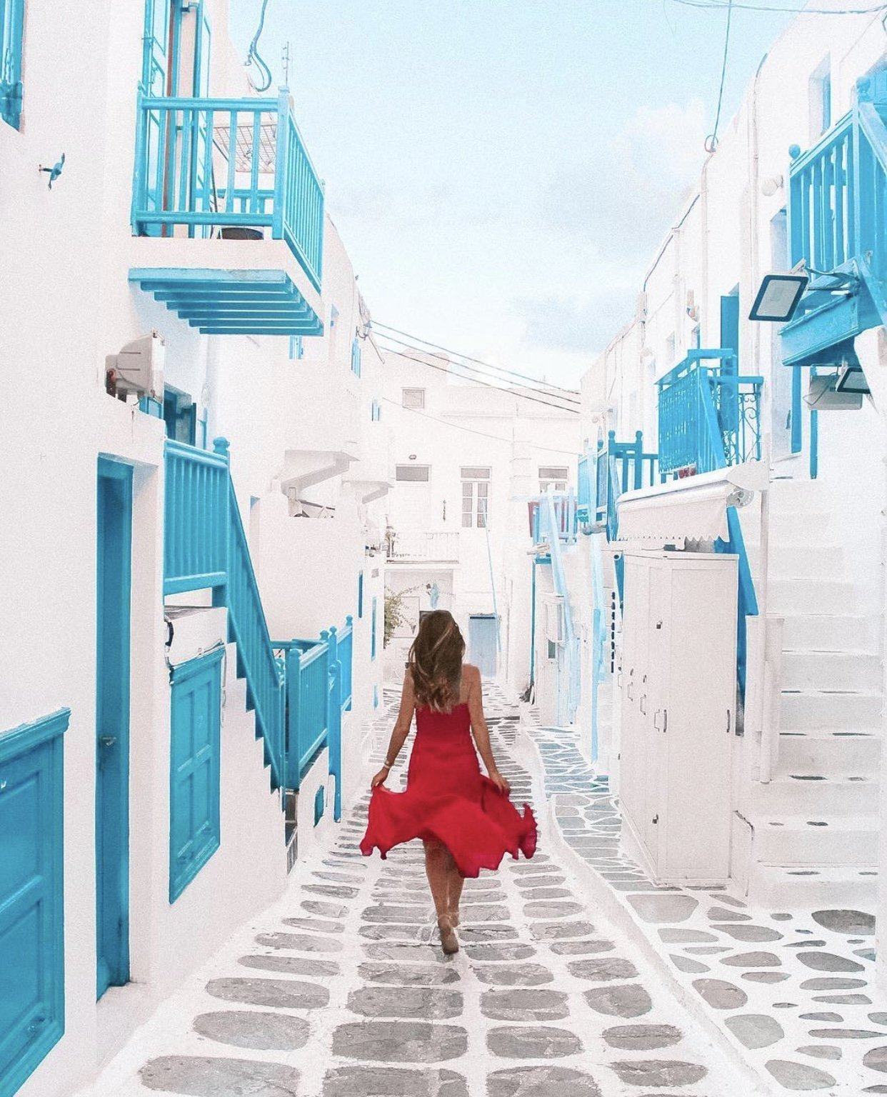 Instagram spots in Mykonos