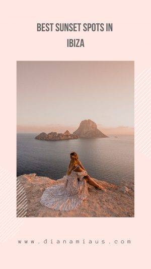 Ibiza is not just a party island! Discover the best sunset spots in Ibiza (with exact location on the map!) #ibiza #spain #instagram