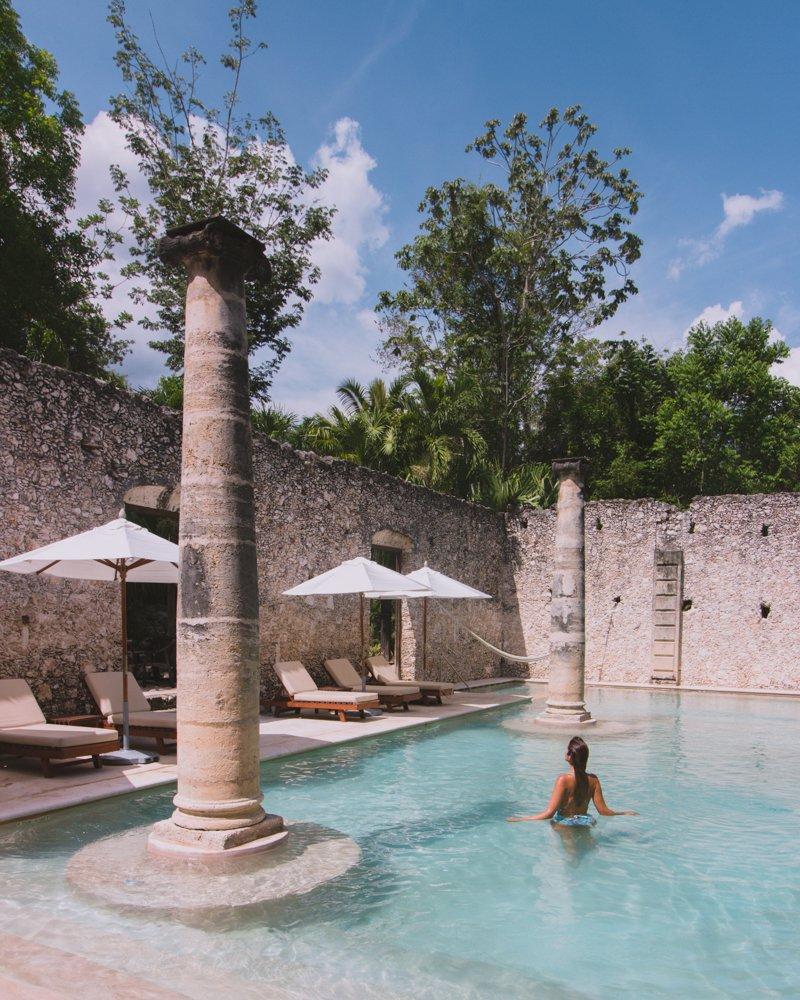 Hacienda Uayamón pool