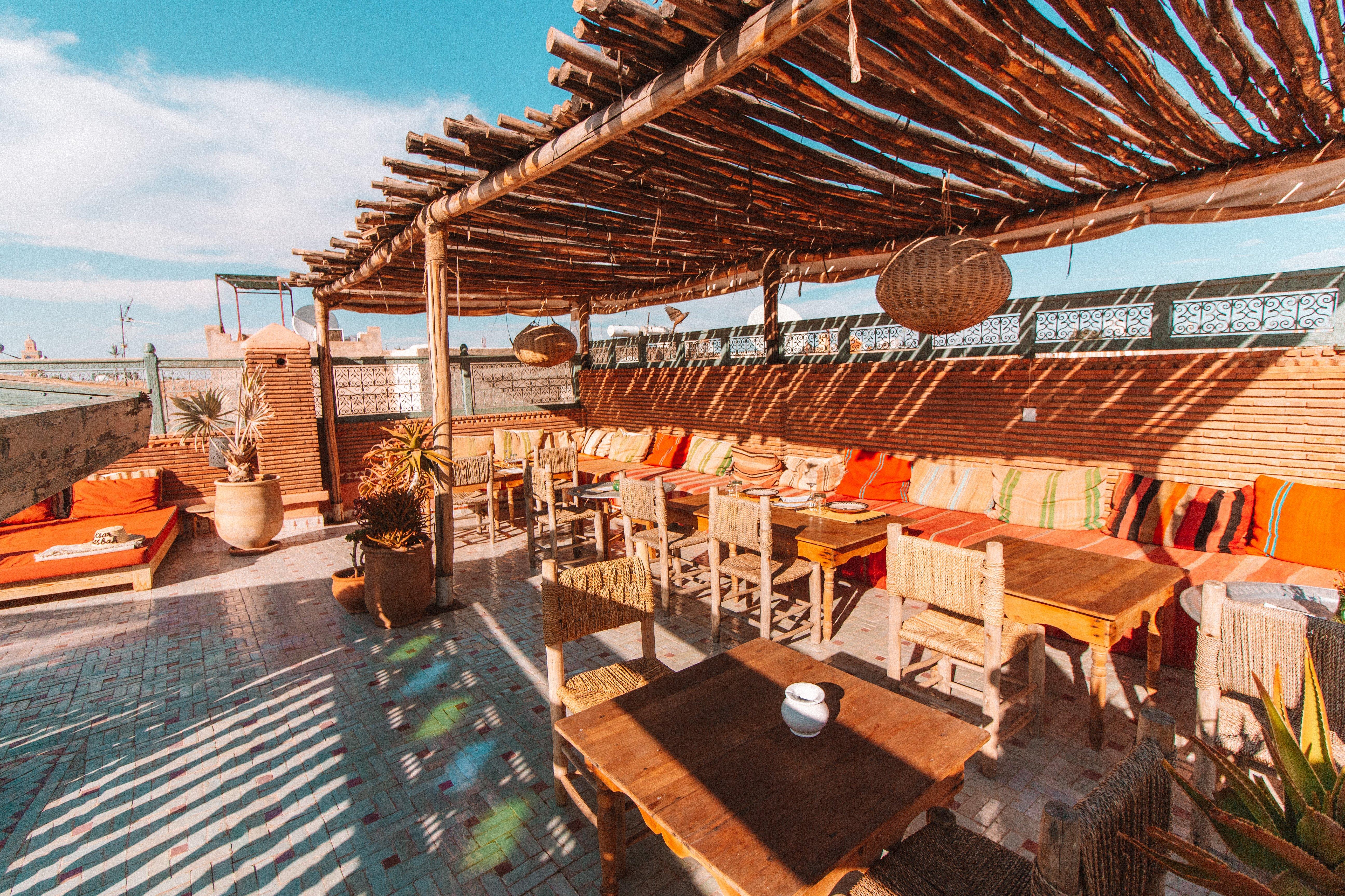 Rooftops in Marrakech