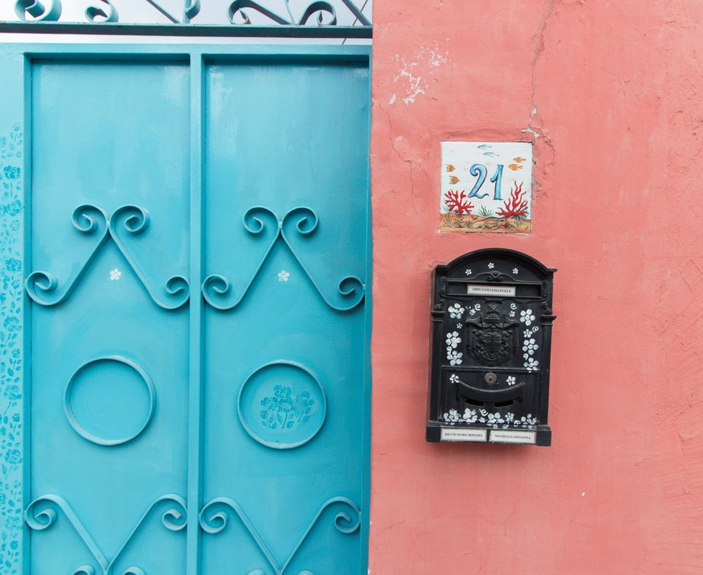 Procida colorful house