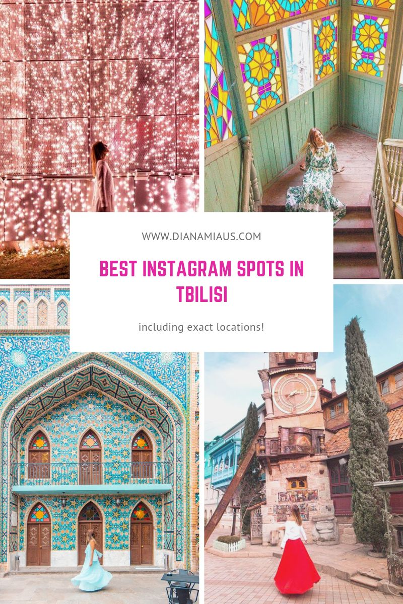Instagram spots in Tbilisi