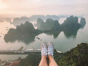 Bai Tho Mountain Ha Long Bay Vietnam
