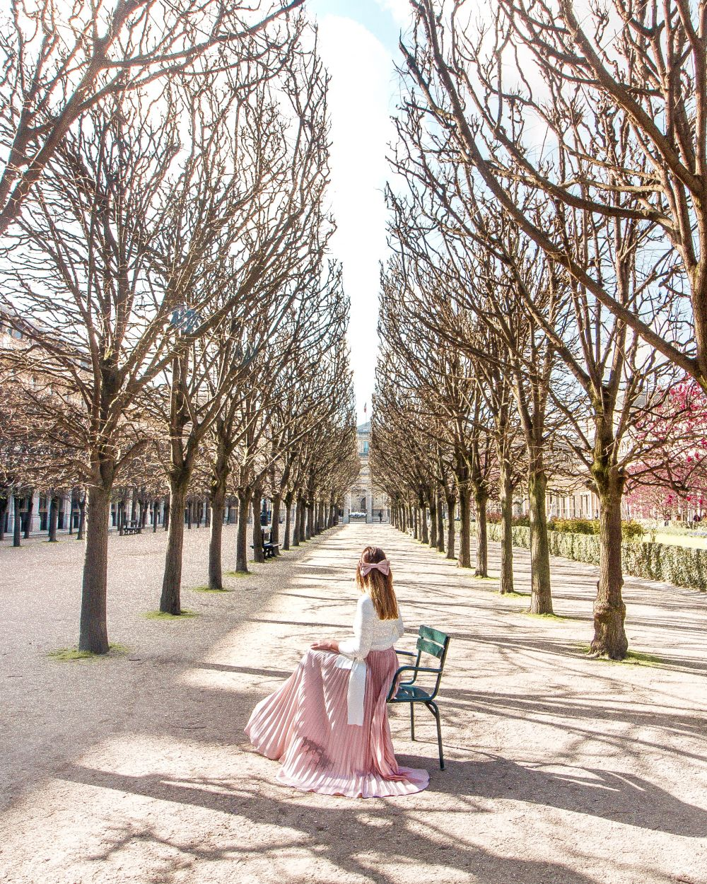 Pink outfit Paris