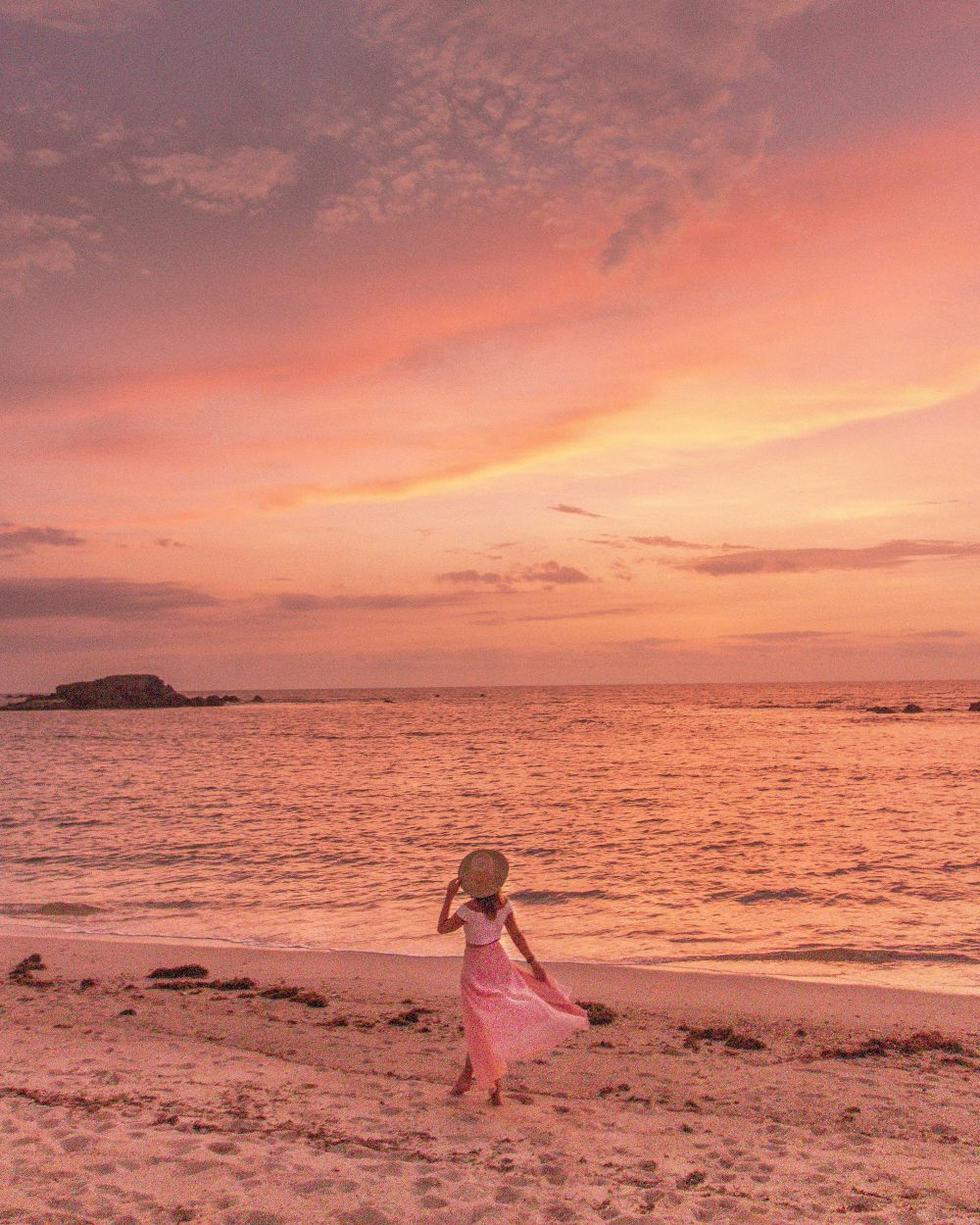 Pacifico Beach Club sunset