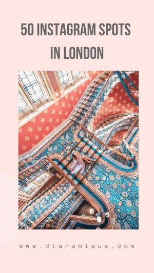 50 Best Instagram Spots in London