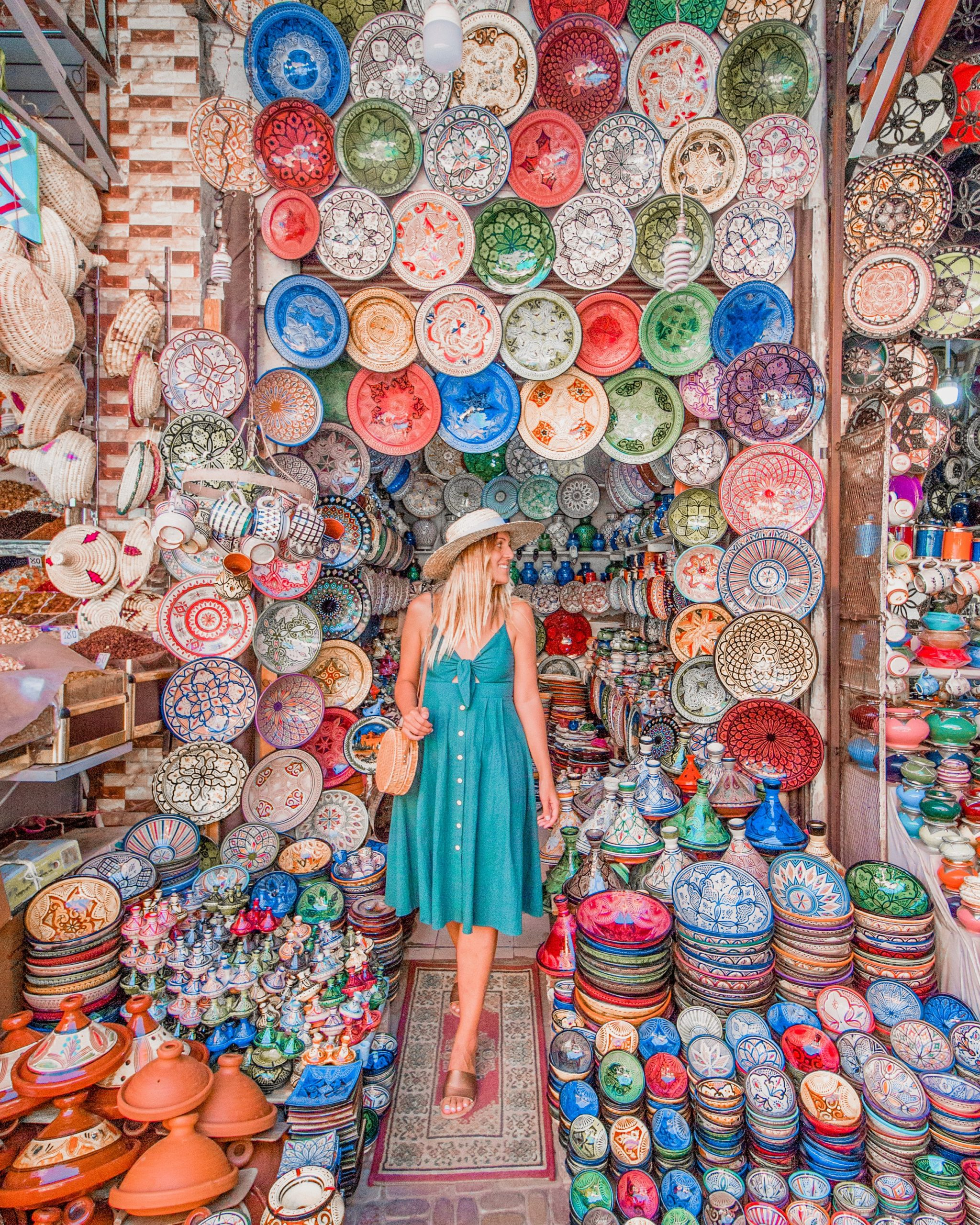 Plates souk Marrakech