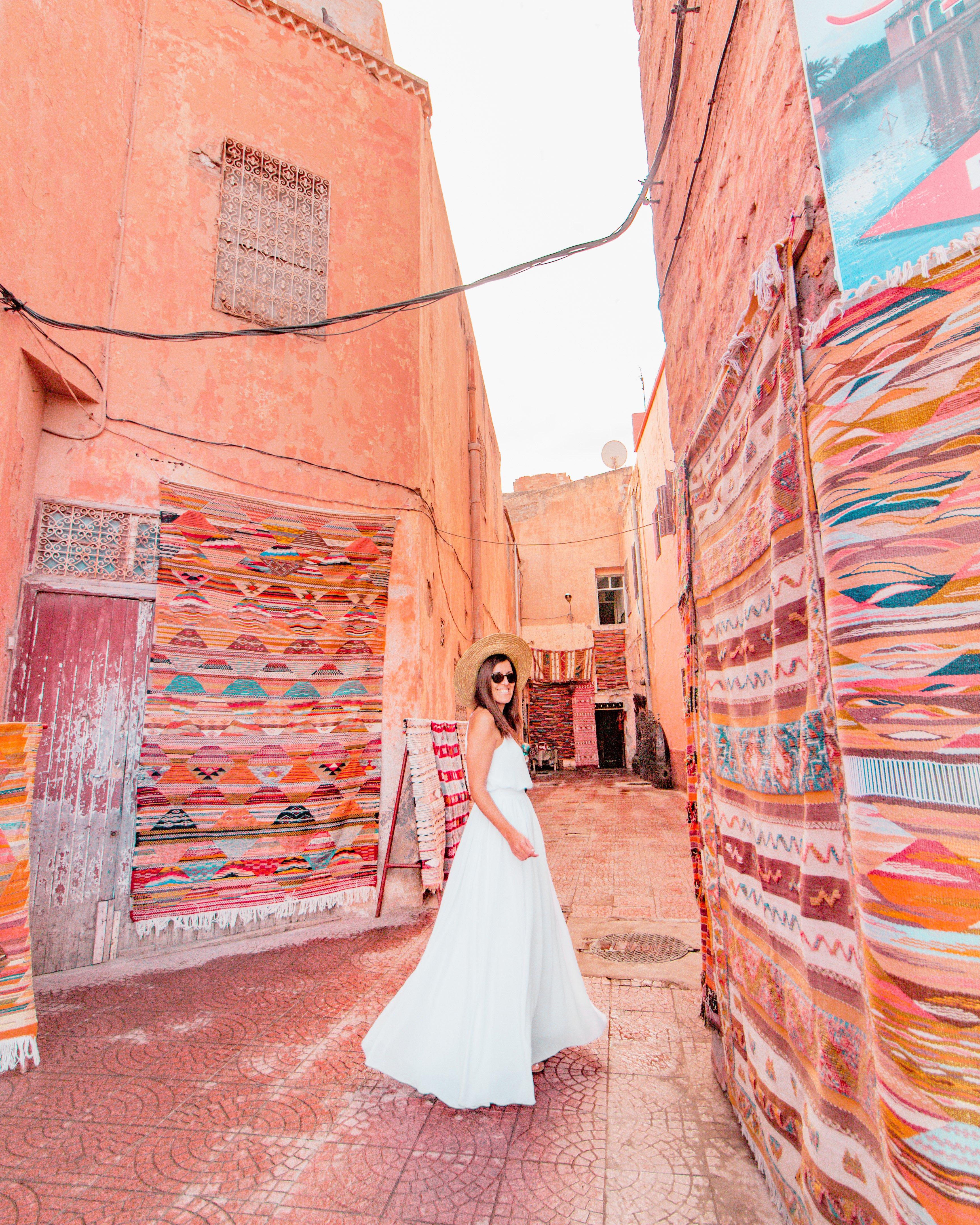 Rug wall Marrakech