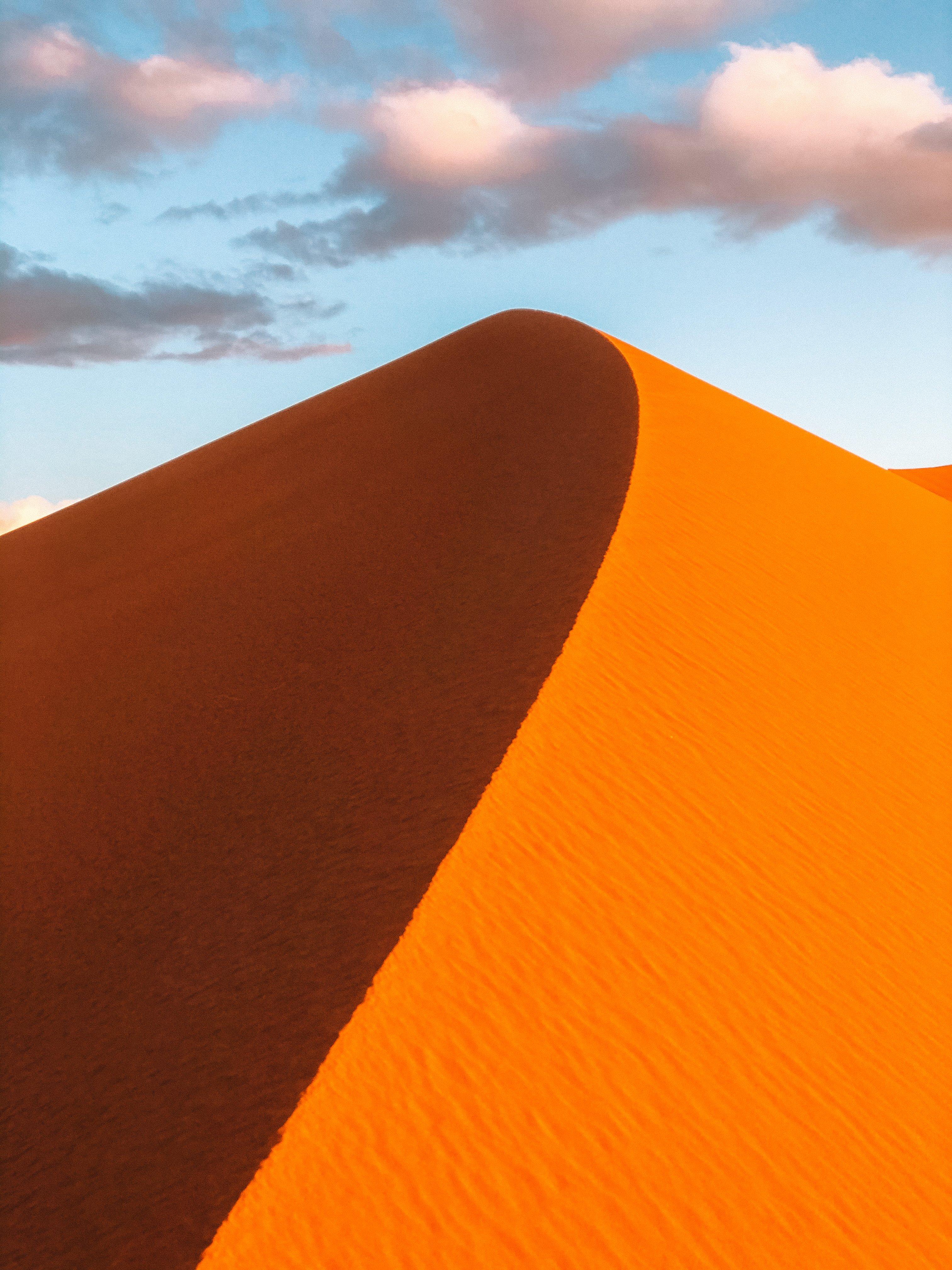 Sunset Merzouga desert