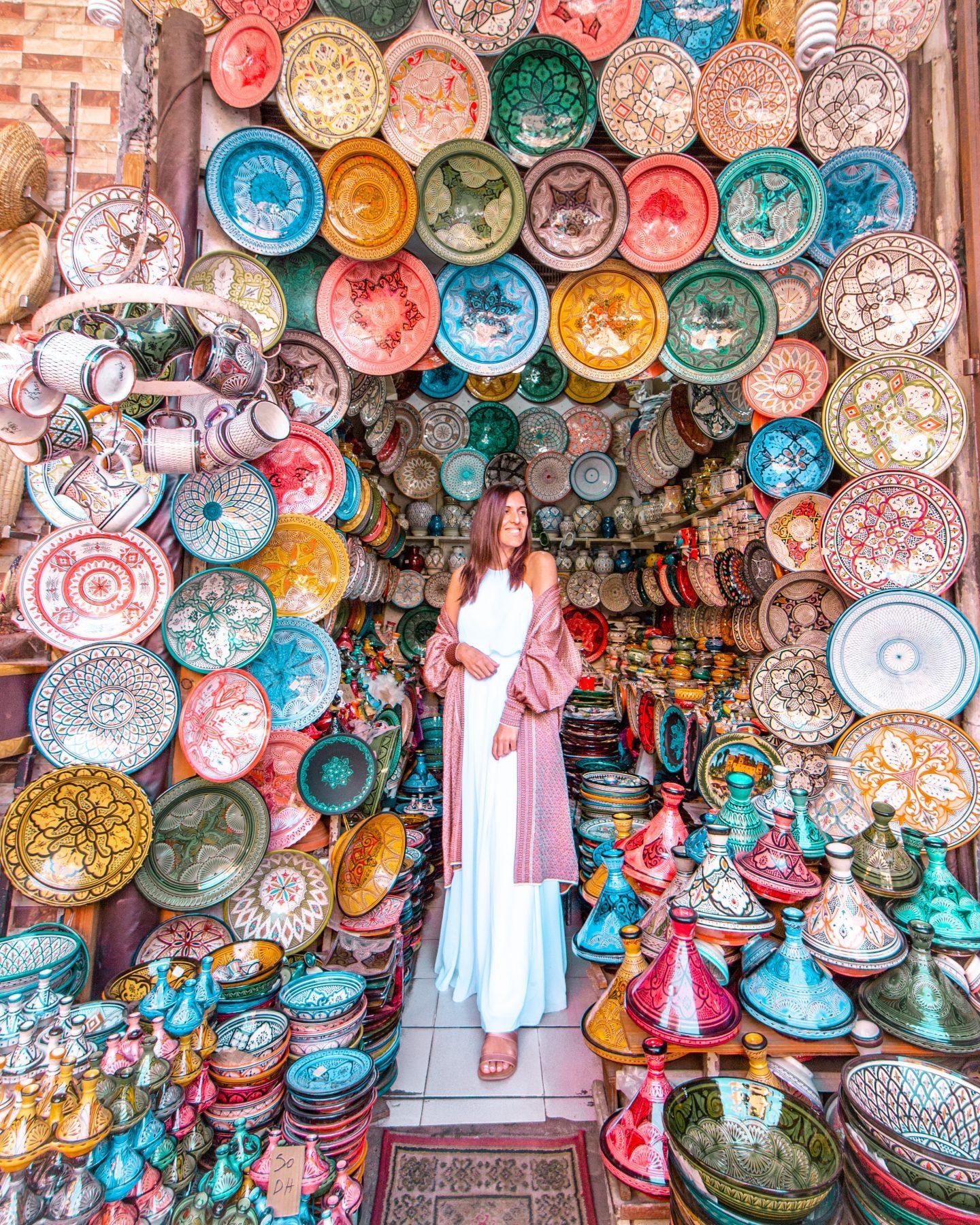 Marrakech souk semmarine