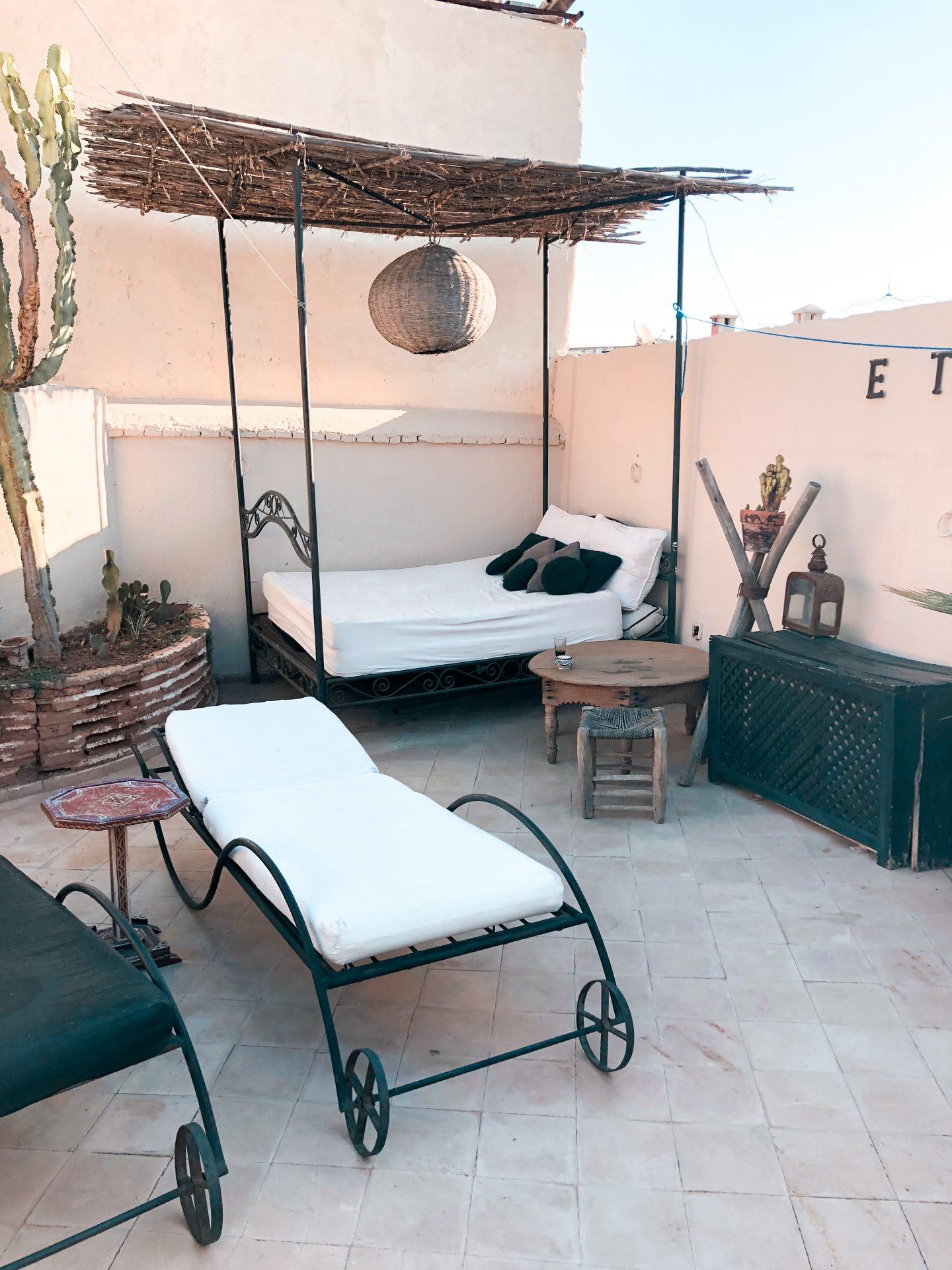 riad nejma lounge marrakech