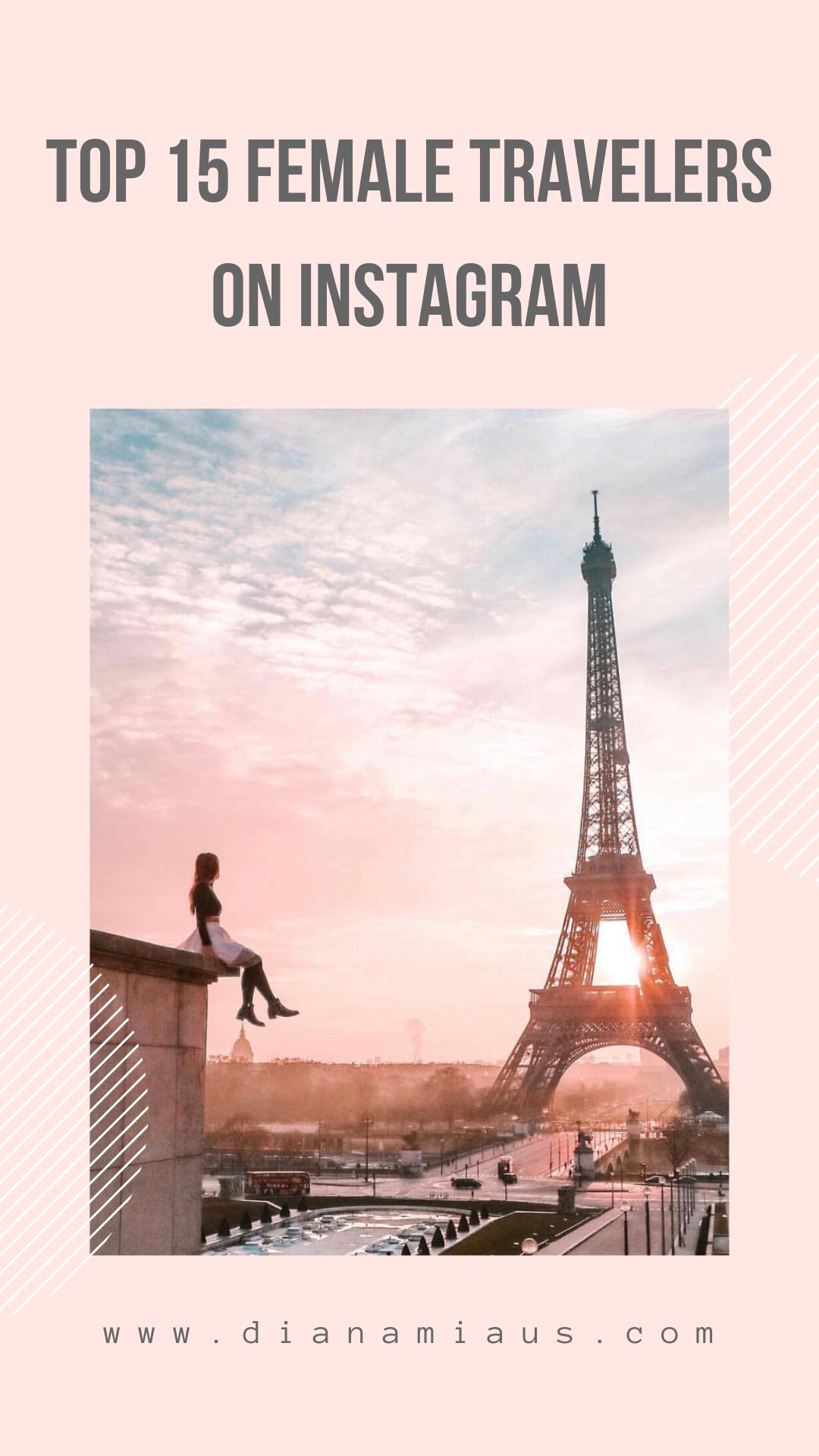 instagram female travelers