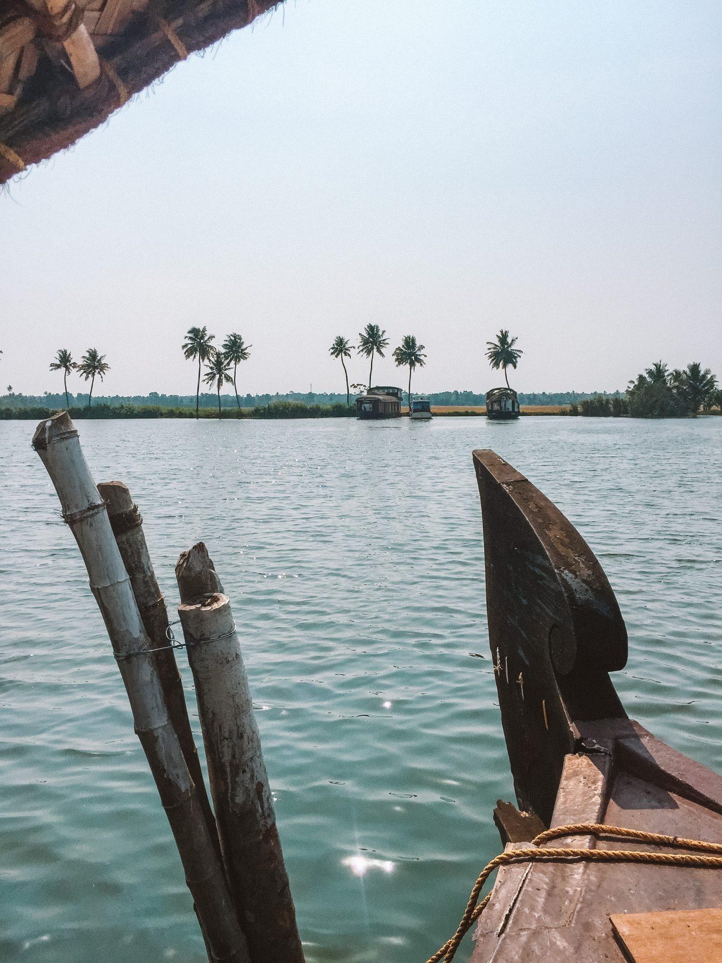 kerala backwaters reflection