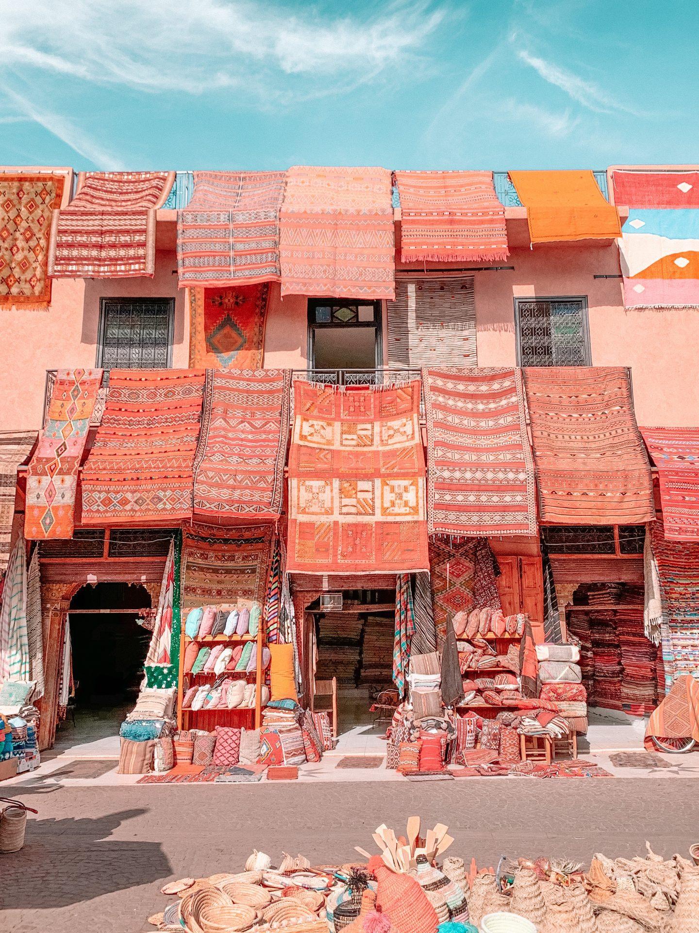 marrakech rug shop