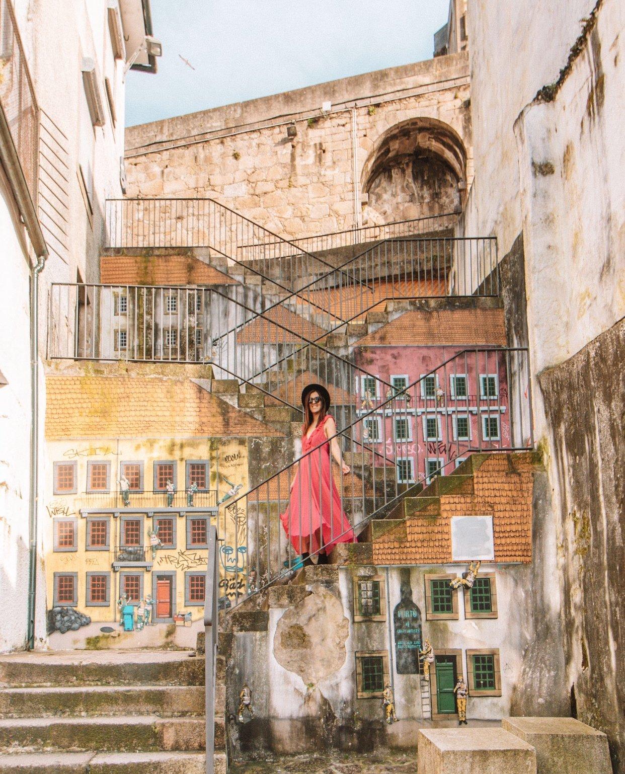 porto gaia street art